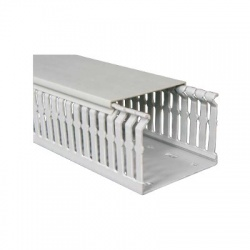 RK 50x50 HF LD kanál rozvádzačový bezhalogénový, sivý