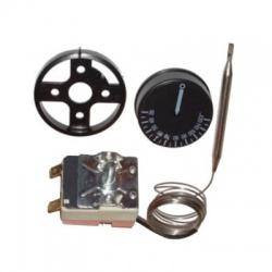 16(2,5)A, 30-120°C termostat s gombíkom