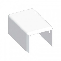 8911 HB 25x20 kryt koncový, biely