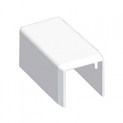 8621 HB 20x20 kryt koncový, biely
