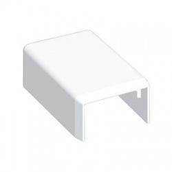 8691 HB 25x15 kryt koncový, biely
