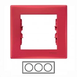 3-rámik, červený, SDN5800541