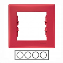 4-rámik, červený, SDN5800741
