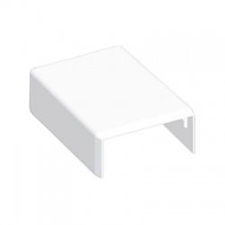 8631HF HB 40x20 kryt koncový bezhalogénový, biely