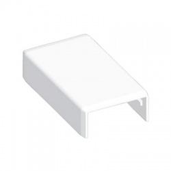 8632HF HB 40x20 kryt spojovací bezhalogénový, biely
