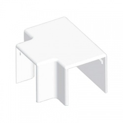 8644HF HB 40x40 kryt odbočný bezhalogénový, biely