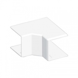 8645HF HB 40x40 roh vnútorný bezhalogénový, biely