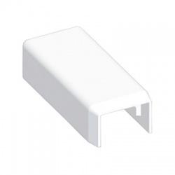 8681 HB 15x10 kryt koncový, biely