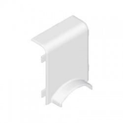 8824/44 HB 80x25 kryt odbočný prechodový, biely