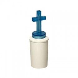 """LED sviečka """"kríž"""", 2xR6, modrá"""