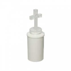 "LED sviečka ""kríž"", 2xR6, biela"