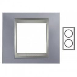 2-rámik, metalická šedá/hliník, MGU66.004V.097