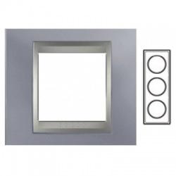 3-rámik, metalická šedá/hliník, MGU66.006V.097