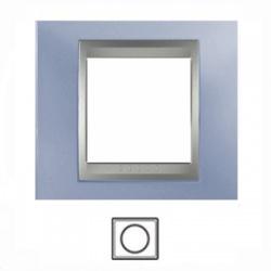 1-rámik, metalická modrá/hliník, MGU66.002.098