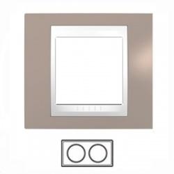 2-rámik, sivobéžová/biela, MGU6.004.874