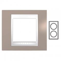 2-rámik, sivobéžová/biela, MGU6.004V.874
