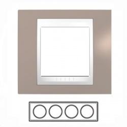 4-rámik, sivobéžová/biela, MGU6.008.874