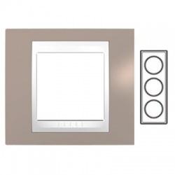 3-rámik, sivobéžová/biela, MGU6.006V.874