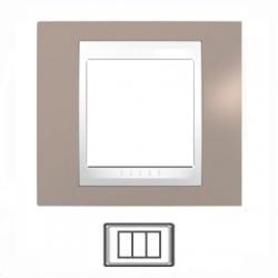 3-modulový, sivobéžová/biela, MGU6.103.874
