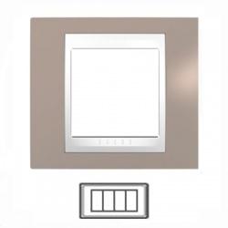 4-modulový, sivobéžová/biela, MGU6.104.874