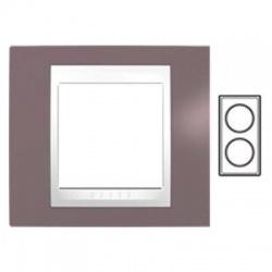 2-rámik, hnedoružová/biela, MGU6.004V.876