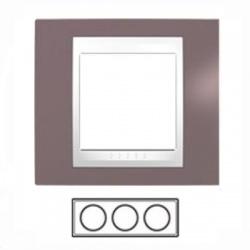 3-rámik, hnedoružová/biela, MGU6.006.876