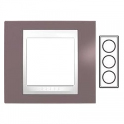 3-rámik, hnedoružová/biela, MGU6.006V.876