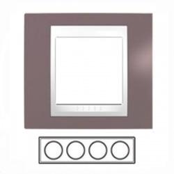 4-rámik, hnedoružová/biela, MGU6.008.876