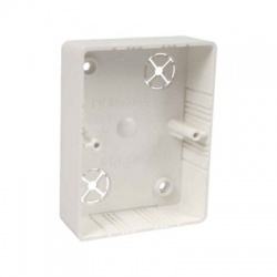 LK 80x28 2ZK HB krabica prístrojová, veľká biela