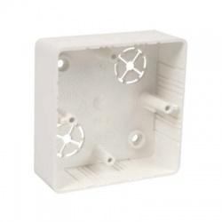 LK 80x28R/1 HB krabica prístrojová, malá biela