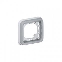 069681 montážny 1-rámik IP55, vodorovný, sivý