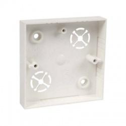 LK 80/1 HB krabica prístrojová, malá biela