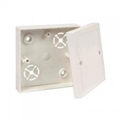 LK 80/2 HB krabica odbočná s vekom, malá biela