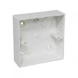 LK 80x28/1 HB krabica prístrojová, malá biela