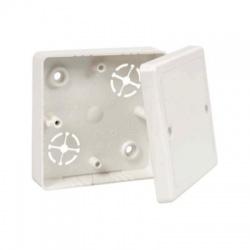 LK 80R/2 HB krabica odbočná s vekom, malá biela