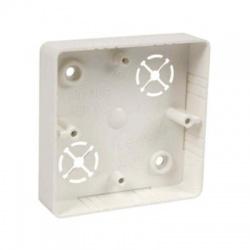 LK 80x20 R/1 HB krabica prístrojová, malá biela