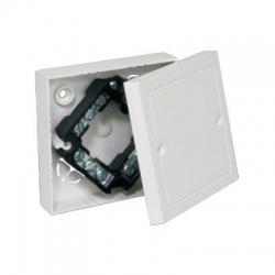 LK 80/3 HB krabica odbočná s vekom a svorkovnicou, malá biela