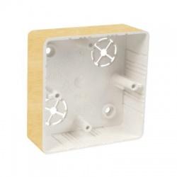 LK 80x28R/1 I1 krabica prístrojová, breza ružová