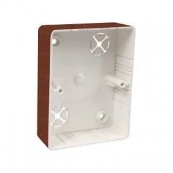 LK 80x28 2ZK I2 krabica prístrojová, dub tmavý
