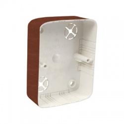 LK 80x28 2ZT I2 krabica prístrojová, dub tmavý