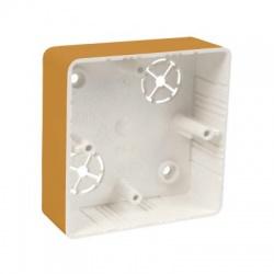 LK 80x28R/1 SD krabica prístrojová, svetlé drevo