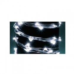 Zväzok LED svietiacich reťazcov, micro, 10 vetiev, 2,4m, IP44, 230V, studená biela