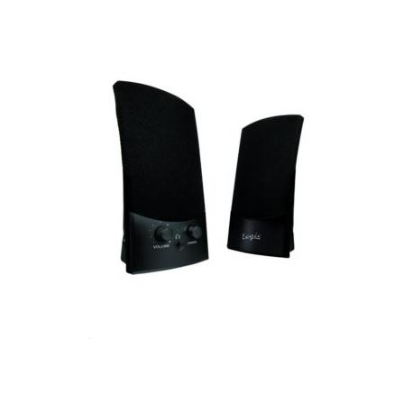 Reproduktor Modecom LS-10 2.0 , USB napájanie, 2x1W, čierne