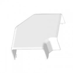 8503 HB 80x40 kryt ohybový, biely