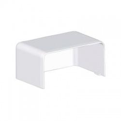 8501HF HB 80x40 kryt koncový bezhalogénový, biely
