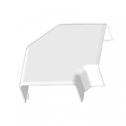 8503HF HB 80x40 kryt ohybový bezhalogénový, biely