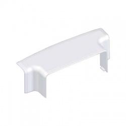 8514/EKD HB 100x40 odbočný prechodový kryt, biely