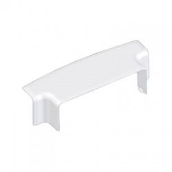 8584/EKD HB 120x40 odbočný prechodový kryt, biely
