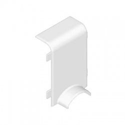 8824/43 HB 80x25 kryt odbočný prechodový, biely
