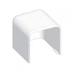 8541 HB 60x60 koncový kryt, biely
